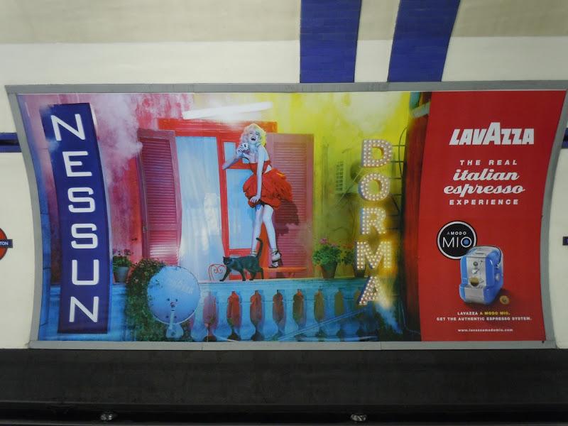 Nessun Dorma Lavazza poster