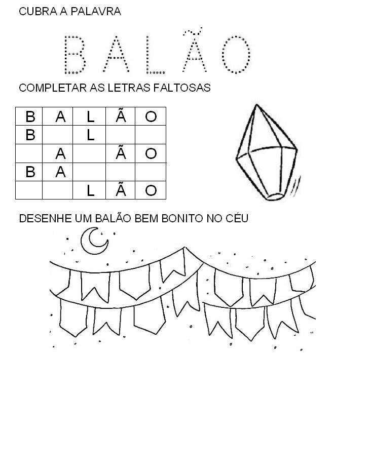 Conhecido Aprendendo Fácil: Cai cai Balão Musica e atividades KC93