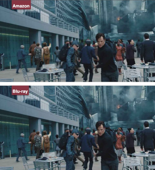 Blu-ray vs streaming