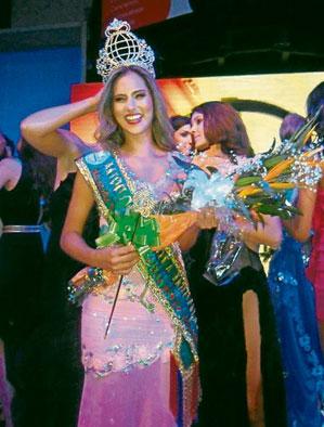 Miss Mundo Colombia 2013 Daniella Ocoro Mejia