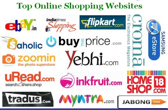 Know about top online shopping sites like homeshop18 for Online shopping websites list