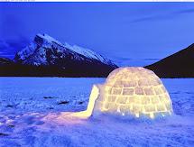 Iceland Igloo Northern Lights