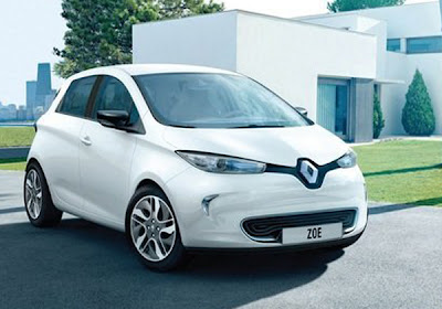 mobil listrik renault zoe 2013