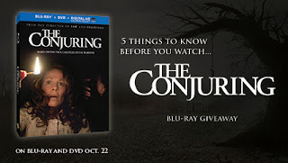 The Conjuring Blu-Ray Giveaway
