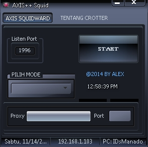 Inject Axis ++ Squid 14 November 2015