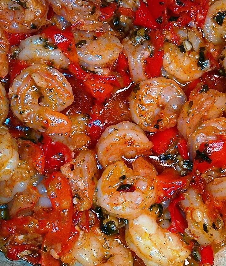 Shrimps Scampi (Camarones al Ajillo)