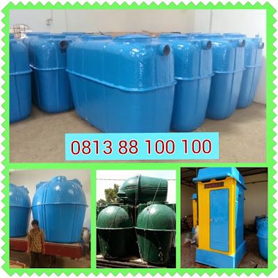 produk asli septic tank biotech, stp biotek, toilet portabel fibreglass, ipal biotech