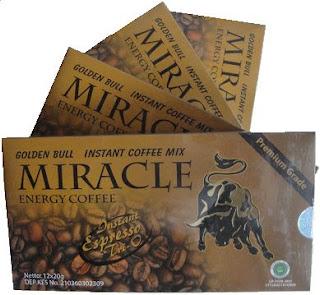 Khasiat Kopi MIRACLE, Menambah STAMINA PRIA