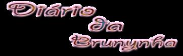 Diário da Brunynha