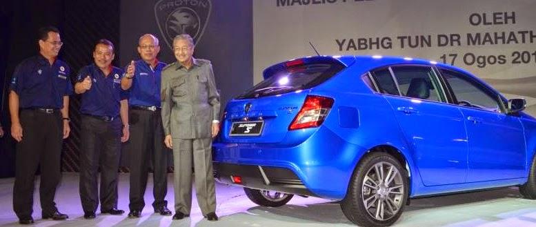 Mahathir Mohamad Didapuk Jadi Komisaris Utama Proton