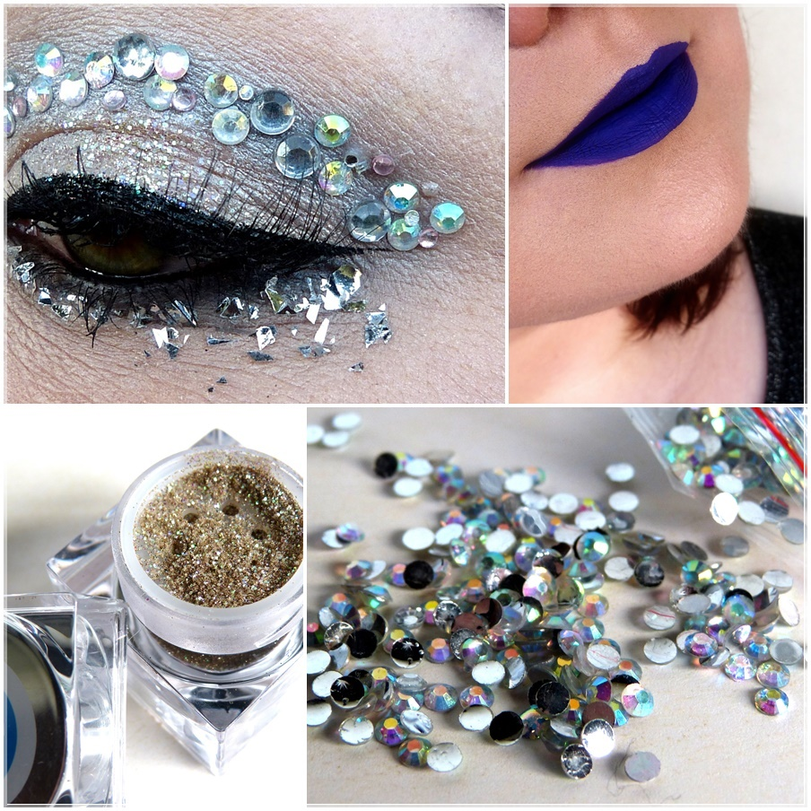 Augen Make Up Glitter