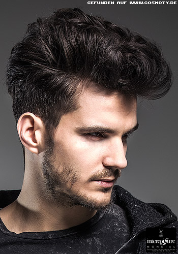 Estilos y peinados de moda peinados con tup para - Peinados para hombres ...