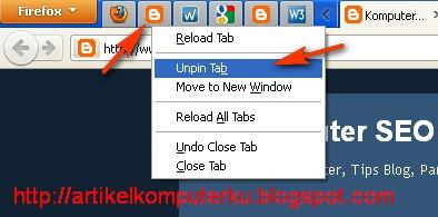 aplikasi tab firefox