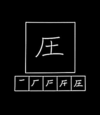 kanji tekanan
