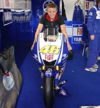 Jack Miller Yang Terlihat Antusias Naik YZR-M1 Valentino Rossi