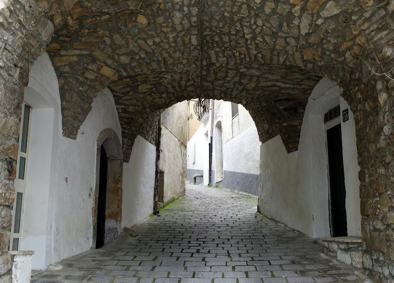 Altstadt Castelluccio Valmaggiore (Provinz Foggia, Apulien)