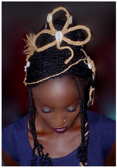 La coiffure de Keren par Mireille Nzoubou