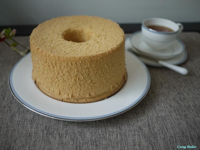 Burnt Sugar Chiffon Cake Recipe