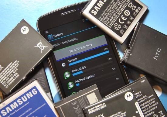 Efek Install Aplikasi Smartphone Gratis - Baterai