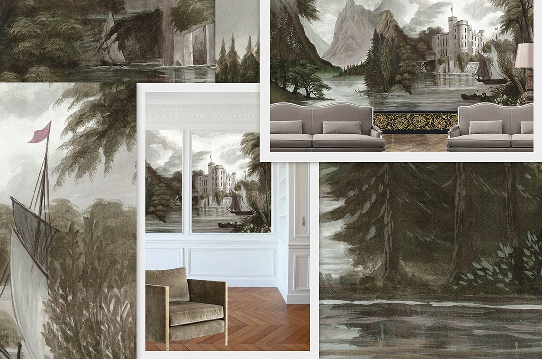 ananb castelfondo papier peint panoramique. Black Bedroom Furniture Sets. Home Design Ideas