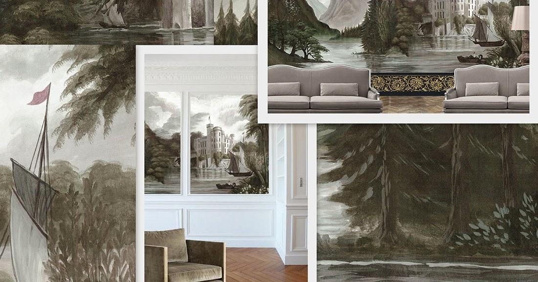 ananb castelfondo papier peint panoramique. Black Bedroom Furniture Sets. Home Design Ideas