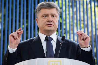 Presidente Poroshenko ha tenuto conferenza stampa allargata sui risultati del primo anno della sua amministrazione