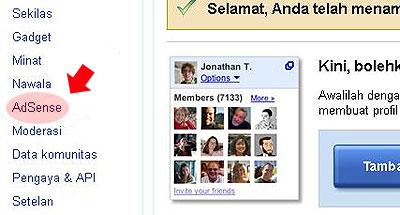 Menampilkan Iklan Google Adsense di Blog Berbahasa Indonesia