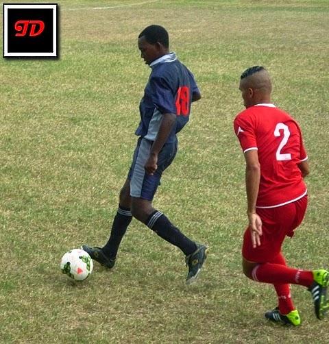 Tope fútbol Cuba vs Santiago