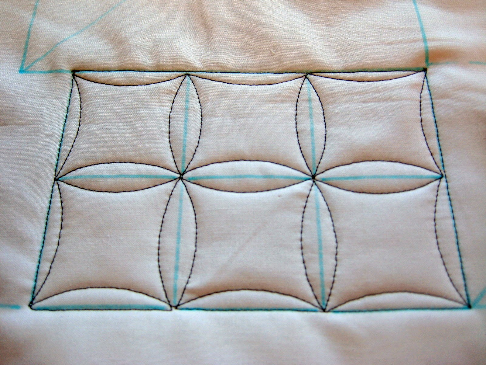 free motion quilting continuous curves