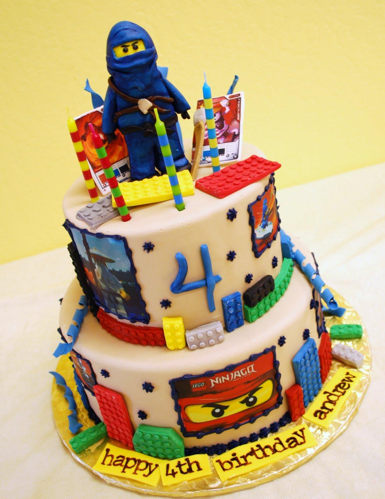 fair cake lego ninjago cake