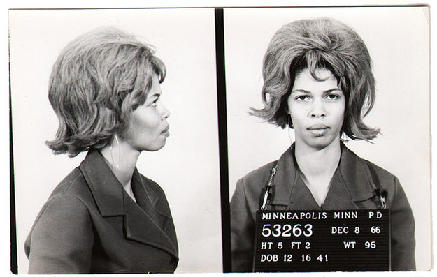 vintage everyday: Vintage Bad Girl Mugshots