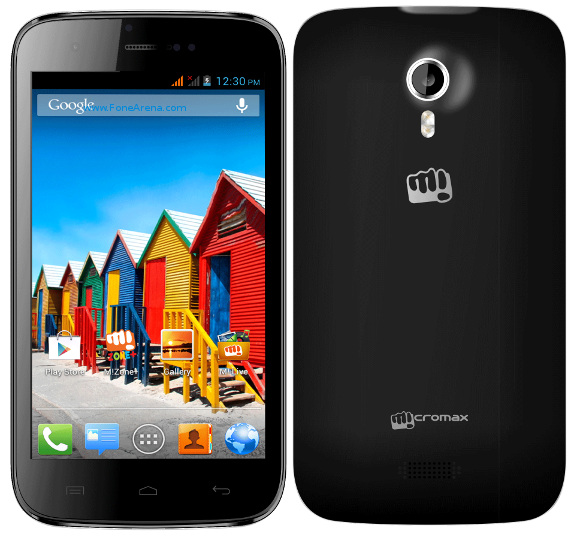 Micromax Canvas 3D Black