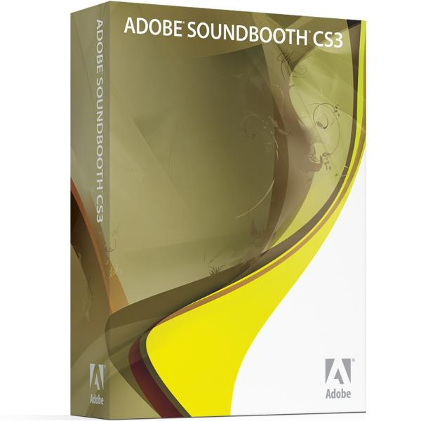 Program Name: Adobe Soundbooth CS3 1.0 (AUG07) Program Type: Audio editing