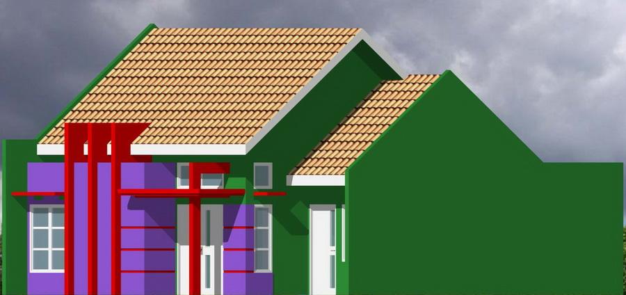 rumahku 1 desain minimalis rumah type 66 136