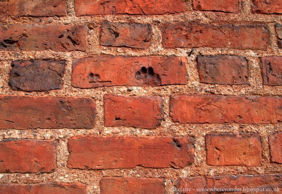 St. Nicolas' Church - marked brick, Lithuania