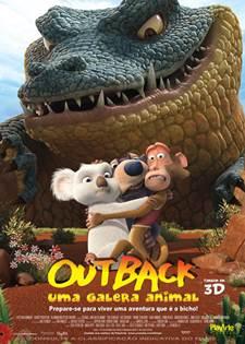 Baixar Outback Uma Galera Animal AVI Dual Áudio + RMVB Dublado DVDRip