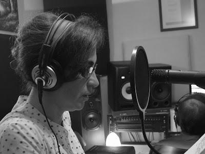 Sessão de gravação com Rita Blanco (2010.04.26)