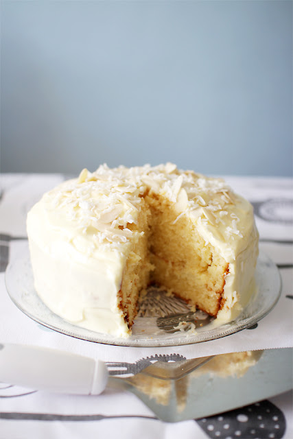 The Cupcake Ballroom: Coconut Cake with Lemon Cream Cheese ...