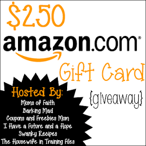 $250 Amazon Gift Card Giveaway!