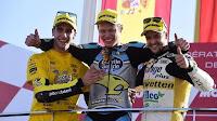 MOTO 2 - Rabat lideró la carrera en Valencia donde Rins se hizo subcampeón tras Johann Zarco