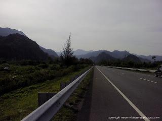 Jalan menuju Lhoknga