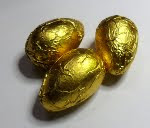Foil-wrapped Choc Egg