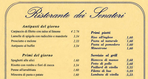 Ilpensierinodellasera agosto 2011 - Buon pranzo in spagnolo ...