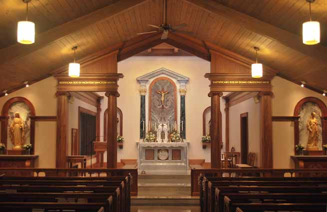 New Liturgical Movement: Renovation: Monastery of the Infant Jesus ...