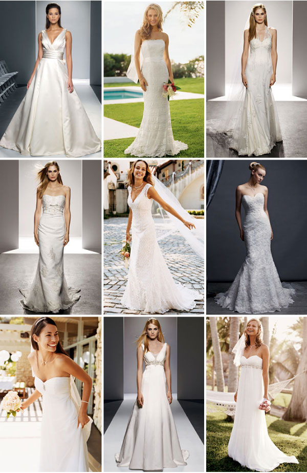 David's Bridal Discontinued Wedding Dresses