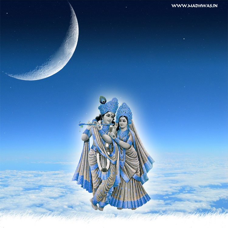 Wallpaper Of Krishna And Radha. Posted by Picasa