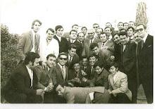 Alumnos el día del homenaje a D.Enrique 27-12-1970