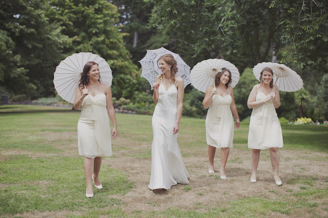 New Zealand garden wedding, by Amy at Five Kinds of Happy blog