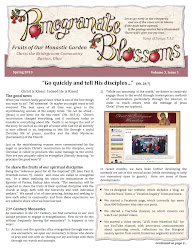 Spring Newsletter