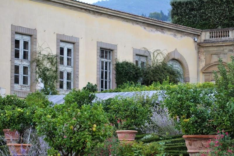 giardino della villa medicea di castello